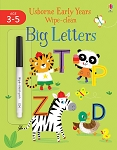 Usborne Wipe Clean Early Years Big Letters