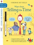 Usborne Wipe-Clean Telling the Time 7-8yr Book