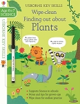 Usborne Wipe-Clean Finding out about Plants Book