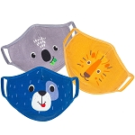 Zoocchini Organic Reusable Face Masks (Kids, one size ages 3+)
