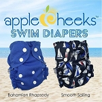 AppleCheeks Washable One Size Swim Diaper