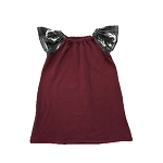 Portage & Main The Maroon and Antler Dress