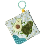 Mary Meyer Crinkle Teether Yummy Avocado 6x6