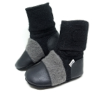 Nooks Design Felt Wool Booties Eclipse