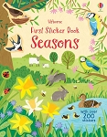 Usborne Books First Sticker Book Seasons