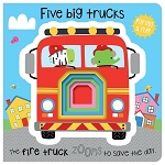 Five Big Trucks Pop Out and Play Board Book