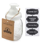 Jarmazing Mason Jar Foaming Soap Dispenser Lid