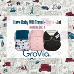 GroVia Crane, Jet, and Have Baby Will Travel