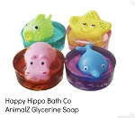 Happy Hippo Bath Co AnimalZ Glycerine Soap
