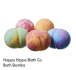 Happy Hippo Bath Co Bath Bombs