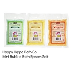 Happy Hippo Bath Co Bubble Bath Epson Salt
