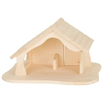 Holztiger Doll's House/Barn/Nativity