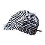 Twinklebelle - Gro-with-me Fall Caps - Houndstooth