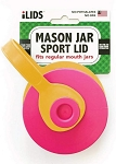 iLid Mason Jar Leak-Proof Sport Lid, Regular Mouth
