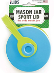 iLid Mason Jar Leak-Proof Sport Lid, WIDE Mouth