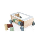Janod - Cart with Blocks