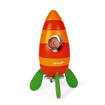 Janod Carrot Rocket - Magnetic Stacker