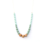 LouLou Lollipop  Naturalist Wood & Silicone Necklace