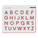 Kido Magnatab *new* Upper Case Alphabet A-Z