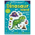 Balloon Stickers: Dinosaur Island Activity Book