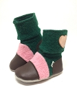 Nooks Design Felt Wool Booties Aspen