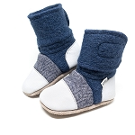 Nooks Design Felt Wool Booties Deep Sea