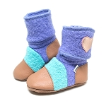 Nooks Design Felt Wool Booties Mermaid