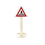 Gluckskafer Pedestrian Crossing Sign