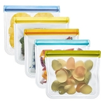 ReZip 5 pack Lay Flat Lunch Bags