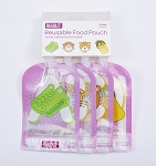 Rhoost 4 pack Reusable Food Pouches