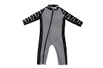 Stonz One Piece UV50 Sun Suit 2019 - Black Sharks