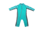 Stonz One Piece UV50 Sun Suit 2019 - Teal Surf Boards
