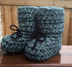 Jack's Mama's Knit Booties