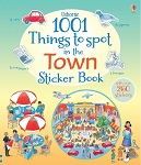 Usborne Books - 1001 things to spot in the town sticker book