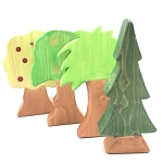 Meadowlark Toy Company Wooden Trees