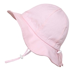 Twinklebelle Cotton Floppy Grow With Me Sun Hat - Pink