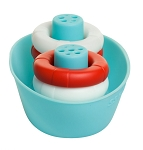 Ubbi Boat + Buoys Bath Toys