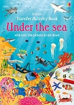 Usborne Books Under the Sea Transfer Activity Book