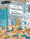 Usborne 'Lift the Flap Construction and Demolition' Book