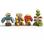 Begin Again Tinker Totter Robots Playset & Game