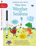 Usborne Books Wipe Clean Weather and Seasons 5-6