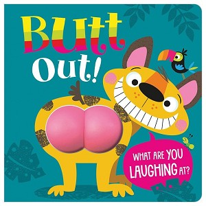 Butt Out Board Book