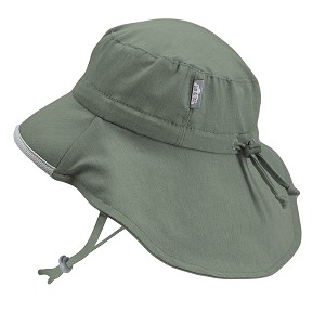 Twinklebelle - Jan & Jul Adjustable Adventure Hat Heather Green