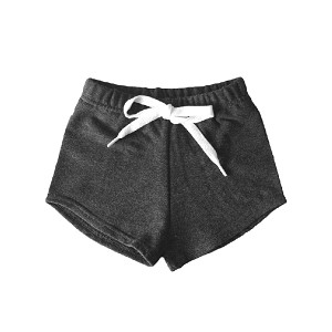 Portage & Main Kids Shorties - Charcoal