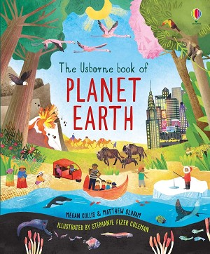 Usborne 'Book of Planet Earth' Book