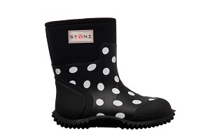 Stonz - The West - Polka Dot Black & White