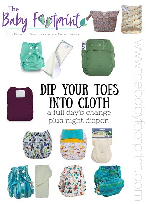 Dip Your Toes In Cloth! Sample Pack