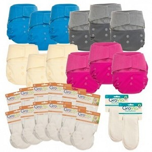 GroVia Starter & Full Time Cloth Diaper Packages