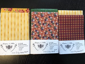 Beeswax & Cotton Food Wraps - Large Set
