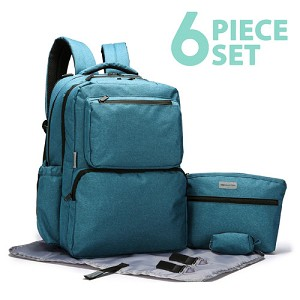 SoHo Collections -Ultimate System Backpack Diaper Bag
